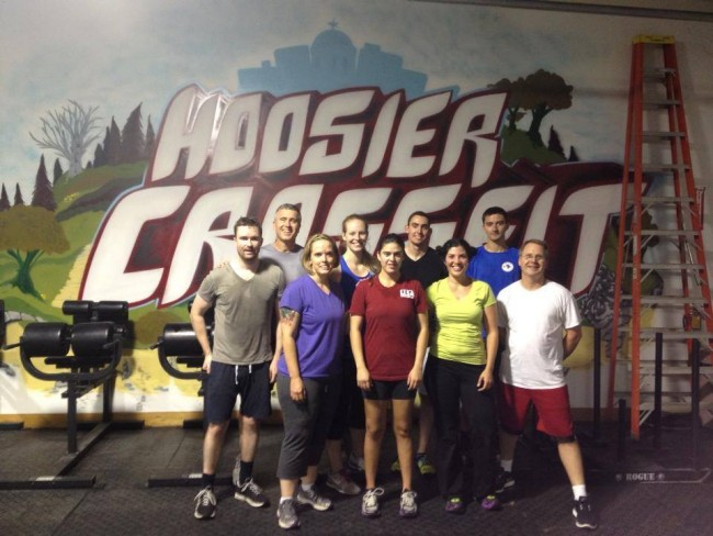 The last day of OnRamp, a one month class designed to teach the mechanics of CrossFit movement.