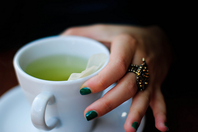 """green tea"" by Martin Phox"