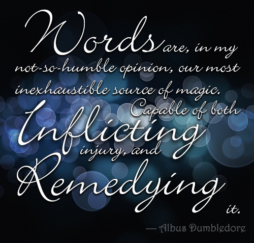 quote-on-words-by-dumbledore